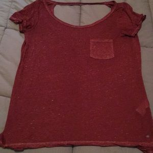 American Eagle open back top!